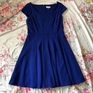 Calvin Klein Royal Blue flare dress